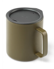 Kubek z przykrywką Glacier Stainless Camp Cup 444 ml GSI Outdoors oliwkowy
