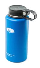 Zakręcany termos podróżny Glacier Stainless Microlite Twist 1000 ml niebieski GSI Outdoors