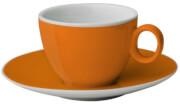 Zestaw filiżanek z melaminy Set Espresso Spectrum Orange 100 ml Brunner