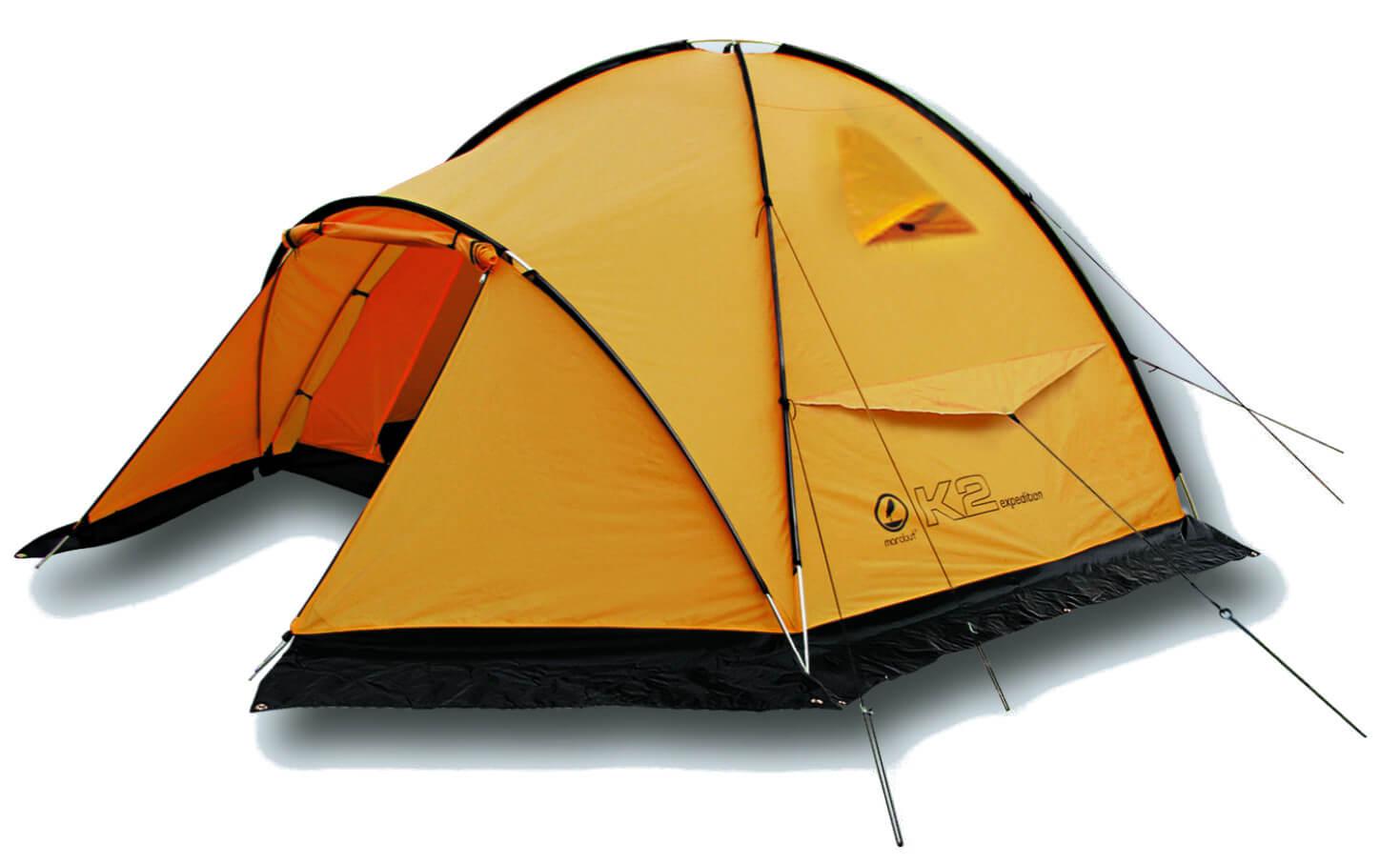 Namiot 6 osobowy, żółty