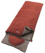 Śpiwór turystyczny Contour (190 cm) ochre red Outwell zamek lewy