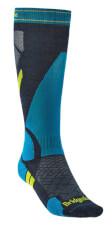 Skarpety narciarskie Ski Lt Merino E Bridgedale niebieskie