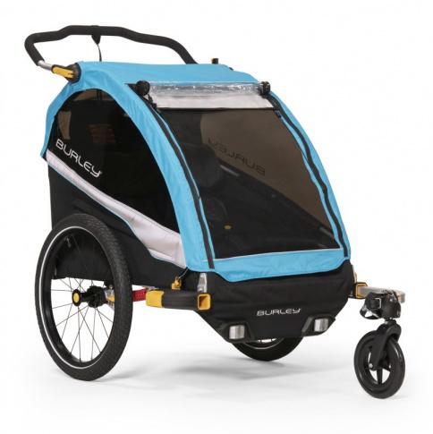 Przyczepka rowerowa D'Lite X Burley aqua