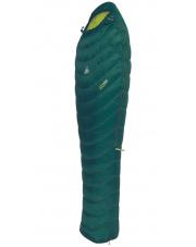 Lekki śpiwór puchowy ED 200 PLUS Camp zielony