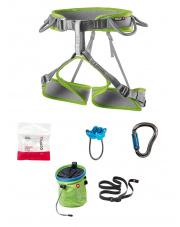 Damski zestaw wspinaczkowy Climbing Twist Set green Ocun rozmiar XS-M