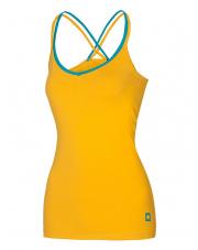 Damska koszulka wspinaczkowa na ramiączkach Corona Top Lady Golden Yellow Ocun