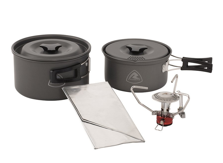 Robens Fire Ant Cook System Camping Stove & Cookware Set