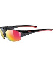 Całoroczne okulary sportowe Uvex Blaze III 2.0 black red