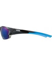 Całoroczne okulary sportowe Uvex Blaze III 2.0 black blue