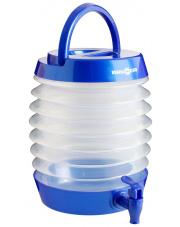 Składany pojemnik z kranikiem Blue Pearl 5,5 l Brunner