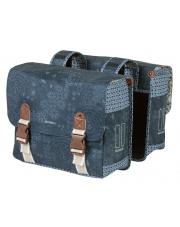 Torba rowerowa Double Bag Boheme 35 l Basil indigo blue