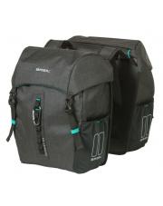 Torba rowerowa podwójna Discovery 365D Double Bag 18l Basil black melee