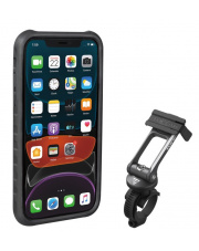 Uchwyt na telefon Ridecase for iPhone 11 Topeak black/grey