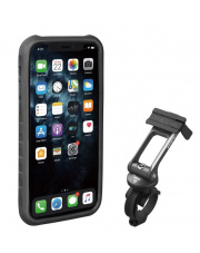 Uchwyt na telefon Ridecase for iPhone 11 Pro Topeak black/grey