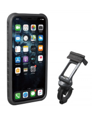 Uchwyt na telefon Ridecase for iPhone 11 Pro Max Topeak black/grey
