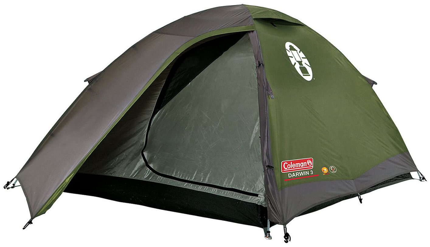 Namiot turystyczny dla 3 osób Darwin 3 Coleman edytuj
