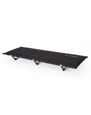 Łóżko polowe Cot One Convertible Insulated Black Helinox czarne