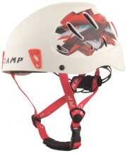 Kask wspinaczkowy Armour Lady/Junior White/Red CAMP