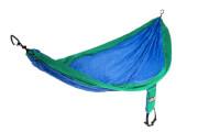Hamak turystyczny Eno Single Nest niebiesko/zielony