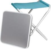 Stołek i stolik 2w1 Hoggy Set Brunner niebieski