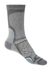 Skarpety trekkingowe Hike Ultra Light T2 Coolamx Performance Boot dark grey/light grey Bridgedale