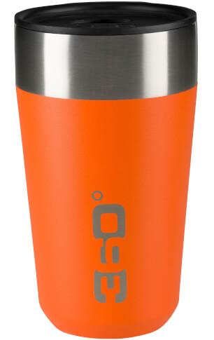 Kubek termiczny Vacuum Insulated Stainless Travel Mug 475 ml 360 Degrees pomarańczowy