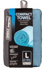 Ręcznik szybkoschnący Compact Microfibre Towel XL 360 Degrees niebieski