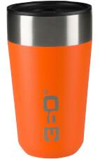 Kubek termiczny Vacuum Insulated Stainless Travel Mug 355 ml 360 Degrees pomarańczowy