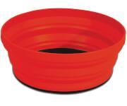 Miska składana X-Bowl czerwona 650 ml Sea To Summit