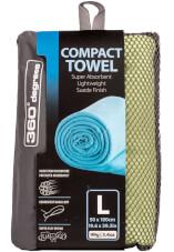 Ręcznik szybkoschnący Compact Microfibre Towel L 360 Degrees zielony