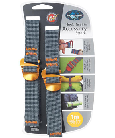 Pasy z hakami Accessory Strap with Hook Buckle 1m Sea To Summit