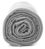 Antybakteryjny ręcznik szybkoschnący L szary Dr Bacty