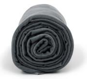 Antybakteryjny ręcznik szybkoschnący L ciemnoszary Dr Bacty