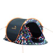 Namiot turystyczny Easy Camp - ANTIC PIXEL 2os. - samorozkładający