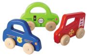 Zabawka drewniane auto Green Joueco