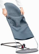 Poszycie do leżaczka Balance Bliss 3D Jersey BabyBjorn niebieskie