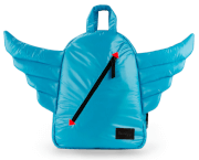 Plecak dziecięcy BackPack Mini Wings Turquoise 7AM