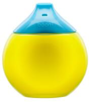 Kubek niekapek fluid G/B Boon żółto niebieski