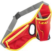 Sportowy pas biodrowy Waistbag red LEKI