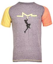 Koszulka techniczna męska Milo Kindi purple velvet