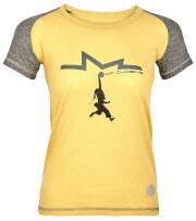 Koszulka techniczna damska Milo Lady Kindi yellow apple