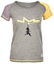 Koszulka techniczna damska Milo Lady Kindi periscope grey