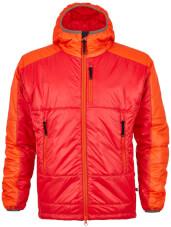 Męska kurtka puchowa primaloft Maho czerwono pomarańczowa Milo