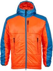 Męska kurtka puchowa primaloft Maho pomarańczowo niebieska Milo