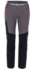 Spodnie w góry VINO grey black red zips Milo