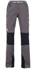 Spodnie trekkingowe Milo Tacul Lady grey / black red zips