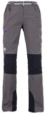 Spodnie trekkingowe Milo Tacul Lady grey / black violet zips