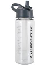 Turystyczna butelka Flip-Top Water Bottle 750ml Clear Lifeventure