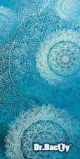 Ręcznik szybkoschnący z nadrukiem L Mandala Blue Dr Bacty