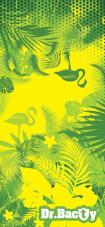 Ręcznik szybkoschnący z nadrukiem L Green Tropical Dr Bacty
